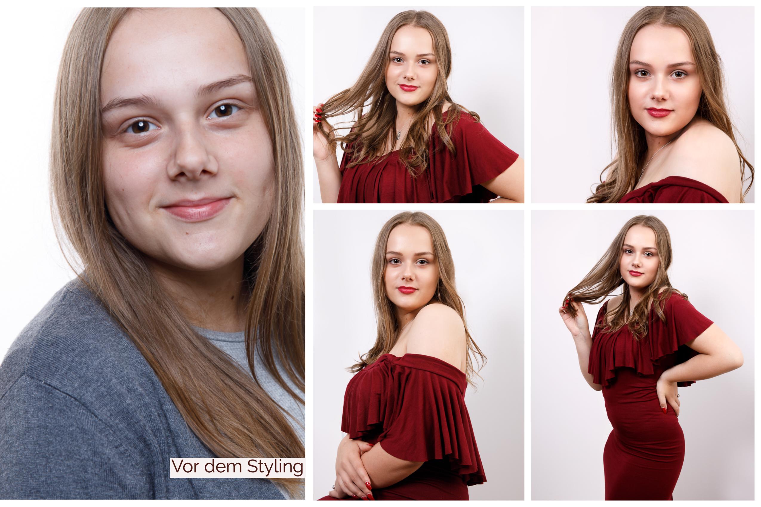 Before and After Styling / Beauty Fotografie in Koblenz und deutschlandweit