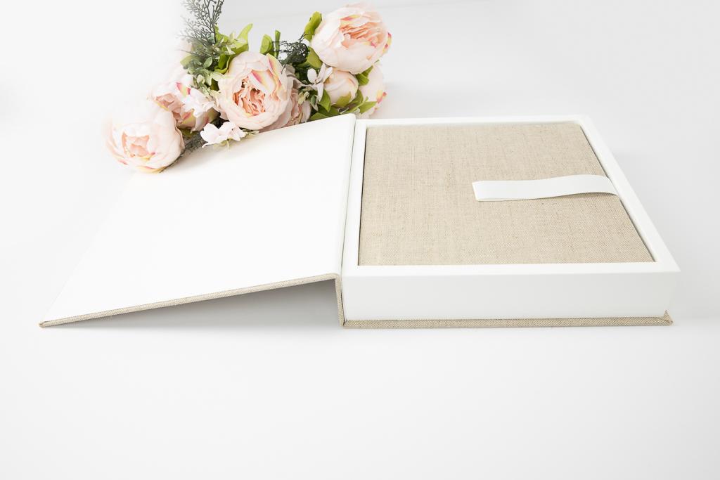 Layflatalben in einer Box - Boudoir by Karina